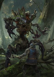Forest Protector Gwent Art